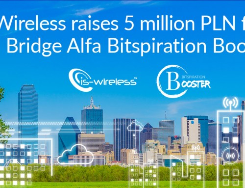 IS-Wireless raises 5 million PLN from ASI Bridge Alfa Bitspiration Booster
