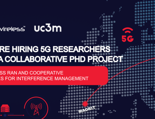 We are hiring 5G researchers for a collaborative PhD project!