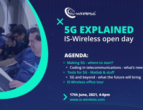 5G explained – IS-Wireless open day (online)